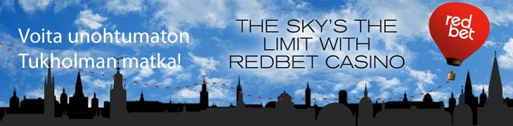 Voita Redbetiltä unohtumaton Tukholman matka kahdelle