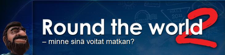NordicBetin Round the World -kisassa jaossa 150.000 euroa
