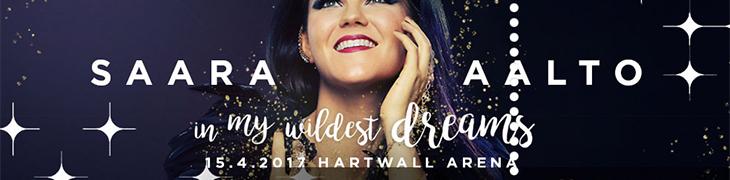 Osallistu Casinonetin kisaan ja voita liput Saara Aallon konserttiin Hartwall Arenalle
