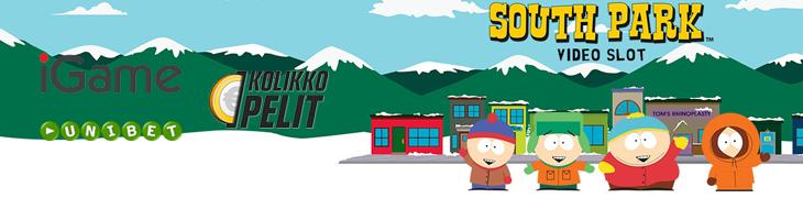 Rutkasti ilmaiskierroksia South Parkiin