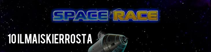 Kymmenen ilmaiskierrosta Space Race -uutuuspeliin