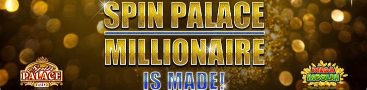 Mega Moolahista 2.3 miljoonaa Spin Palacen pelaajalle
