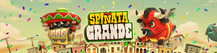 NetEnt julkaisi vekkulin Spiñata Granden