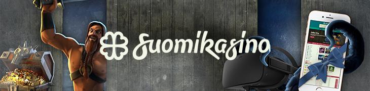 Laukaise ilmaiskierrostoiminto Suomikasinolla ja voita iPhone 7!