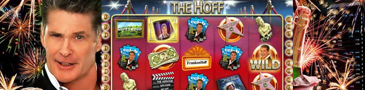 Legendaarinen David Hasselhoff sai oman peliautomaatin