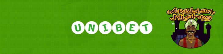 Arabian Nightsin 4.1 miljoonan euron jackpot putosi Unibetillä