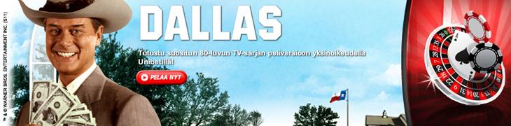 Unibetillä mahtava 20.000 euron Dallas-turnaus