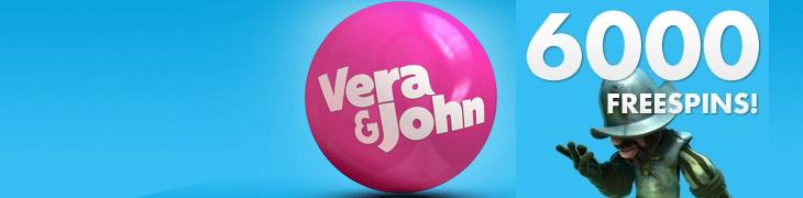 Vera & Johnilla jaetaan sunnuntaina 6000 ilmaispyöräytystä nopeimmille