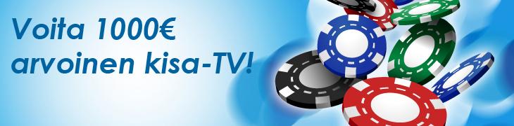 Pelaa NordicBetin casinolla - voita kisa-TV!