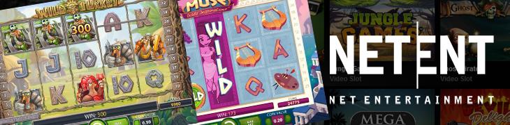 Wild Turkey ja Muse ovat NetEntin seuraavat pelit